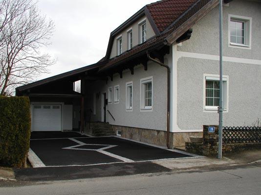 Garageneinfahrt asphalt  Bildergalerie